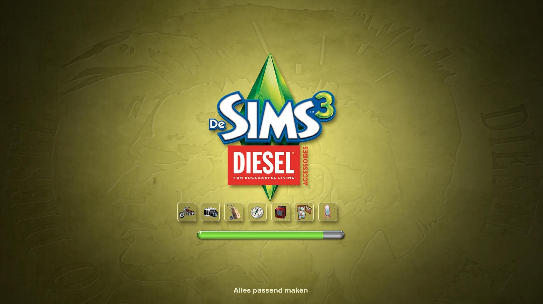 Sn review de sims 3 diesel accessoires sims nieuws - Eigentijdse patio meubels ...
