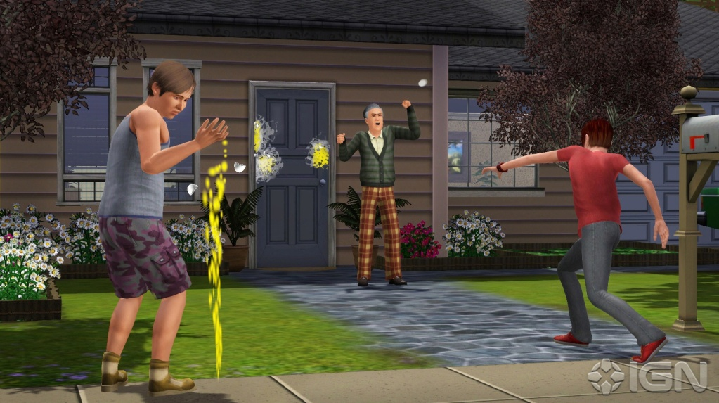 teen peach fuss. It's also very cool to pull pranks with your teen Sims.