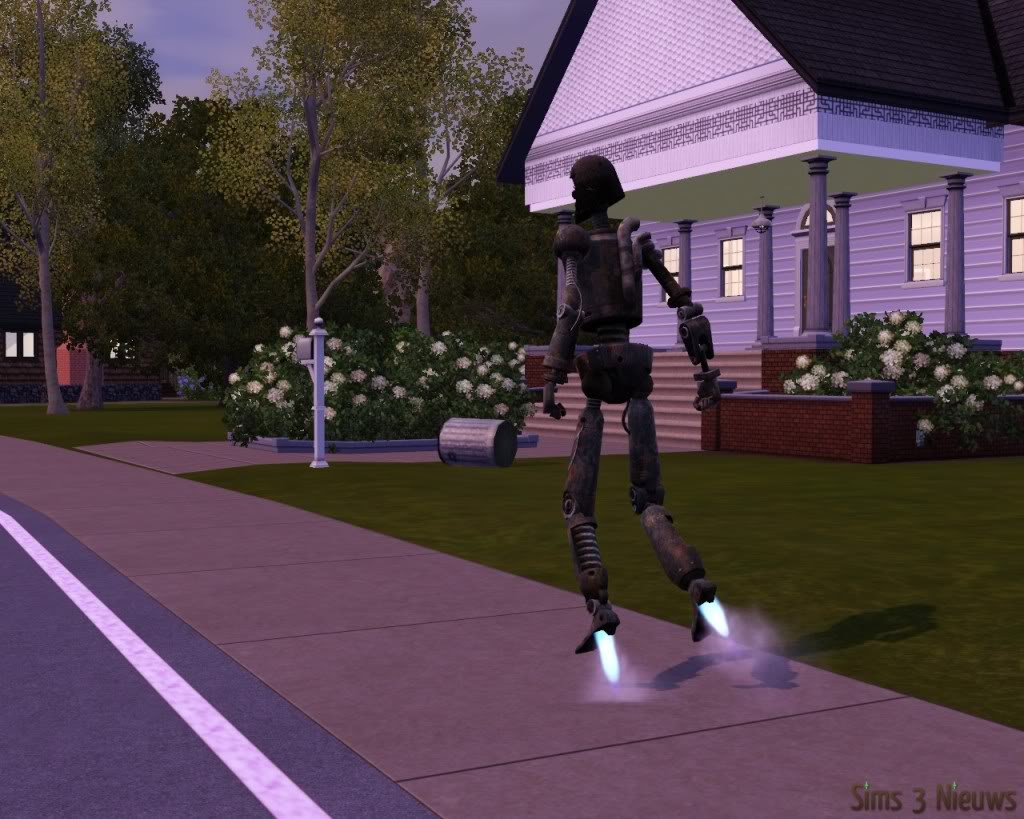 The Sims 3 Ambitions review: 4 – New items, time travelling