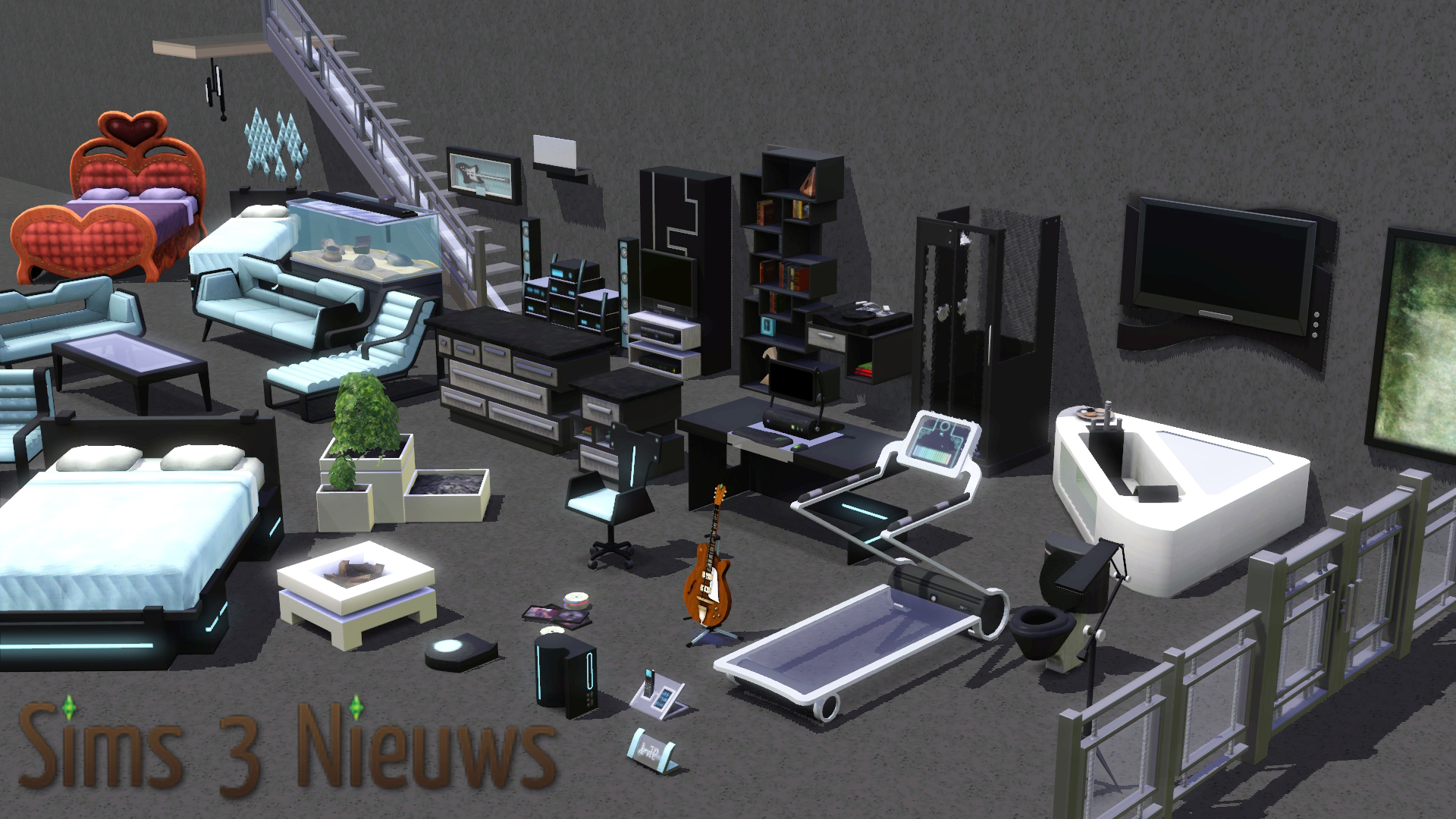The Sims 3: High End Loft Stuff review – Sims Nieuws