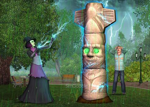 De Sims 3 Bovennatuurlijk review op Gamespot