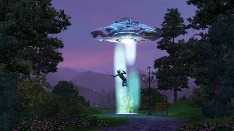 Aliens in De Sims 3 Jaargetijden