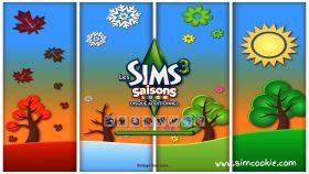 De Sims 3 Jaargetijden laadscherm