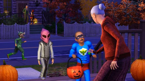 Nieuwe screenshot van De Sims 3 Jaargetijden!