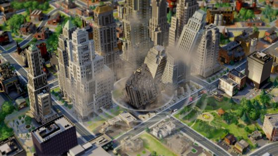 SimCity Blog: Build and Destroy – Detailing Disasters