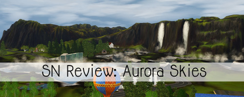 SN Review: De Sims 4 Aurora Skies