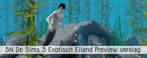SN Preview: De Sims 3 Exotisch Eiland