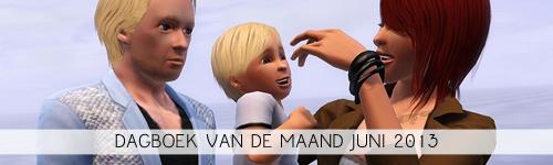 Dagboek Van De Maand Juni 2013