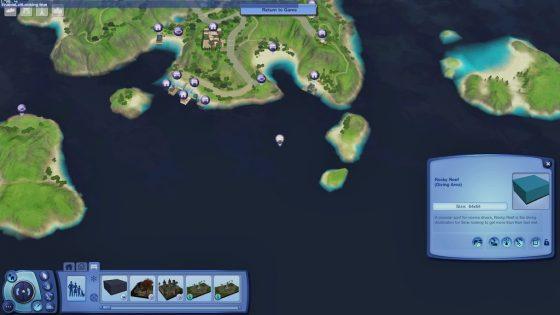 export diving area