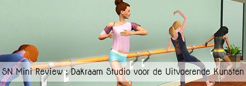 SN Mini Review: Dakraam Studio voor de Uitvoerende Kunsten