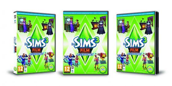 De Sims 3 Film Accessoires NL Boxart