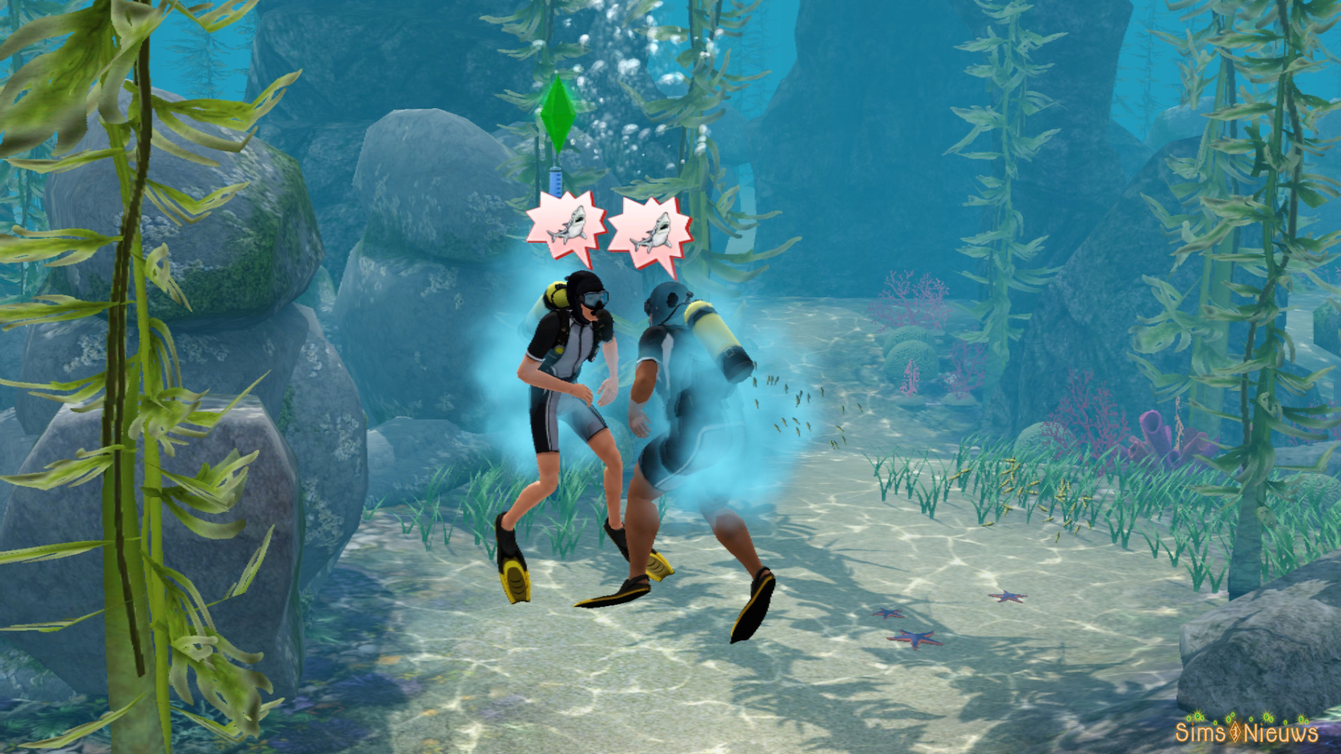 how to become a mermaid in sims 3 island paradise