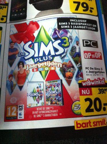 Sims3JaargetijdenSims3voor20euro