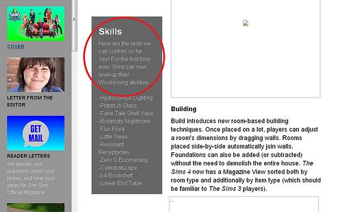 De Sims 4: Woohoo vaardigheid