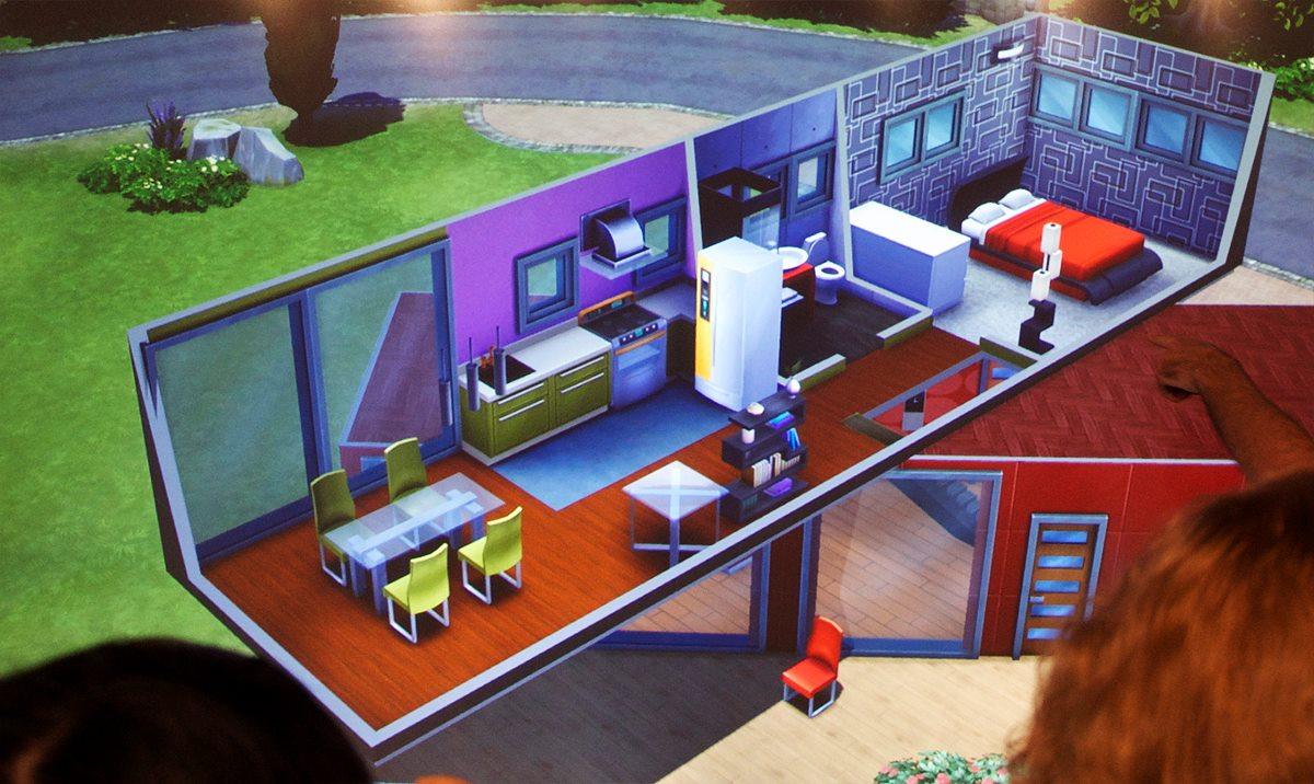 gamescom 2013 de sims 4 bouw en koop sims nieuws. Black Bedroom Furniture Sets. Home Design Ideas
