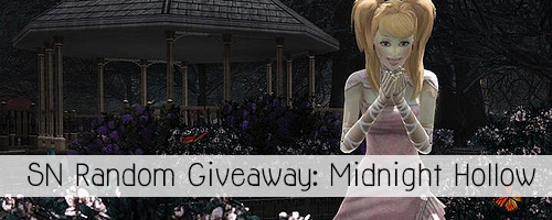 Midnight Hollow Random GIveaway