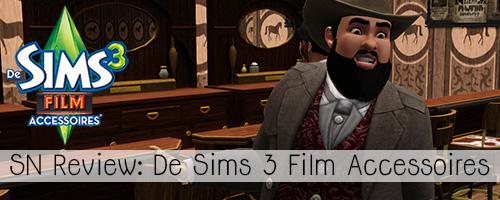 SN Review: De Sims 3 Film Accessoires