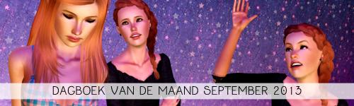 Dagboek van de maand september 2013