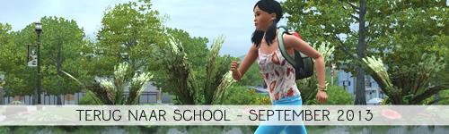 Uitdaging van de Maand: Terug naar school!