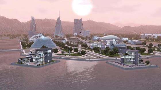[ENG] De Sims 3 Community Blog: Future Living – Part 2