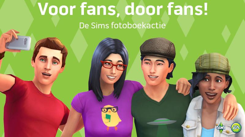 De Sims fotoboekactie