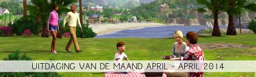 uitdaging van de maand april 2014