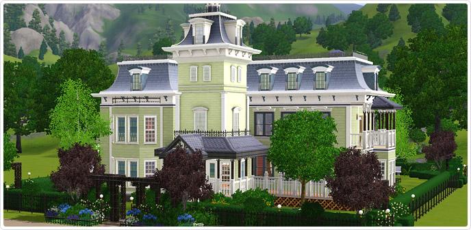 De Sims 3 Store De Nu Toen Eeuw Villa Nu Verkrijgbaar