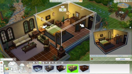 sims 4 bouwmodus