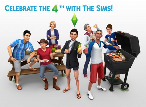 De Sims 4 render