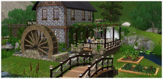 Sims 3 Brunch