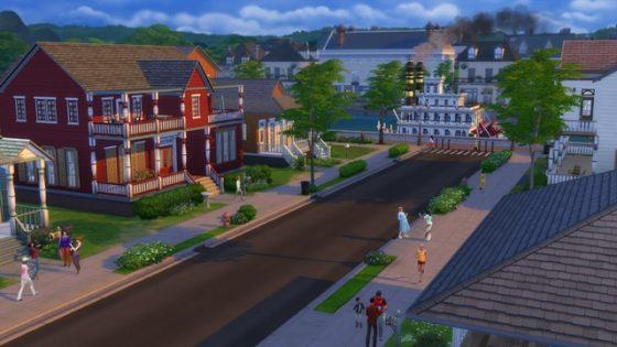 Sims 4 stad