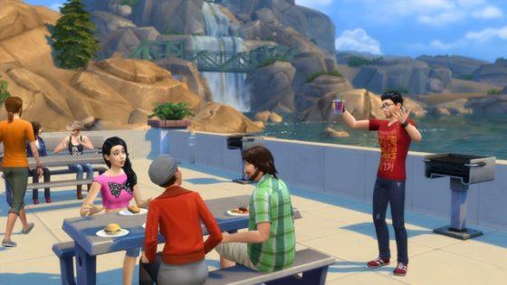 Sims 4 stadje 2