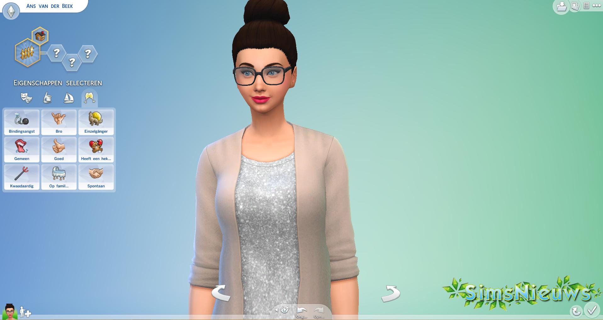 De Sims 4 CAS Demo