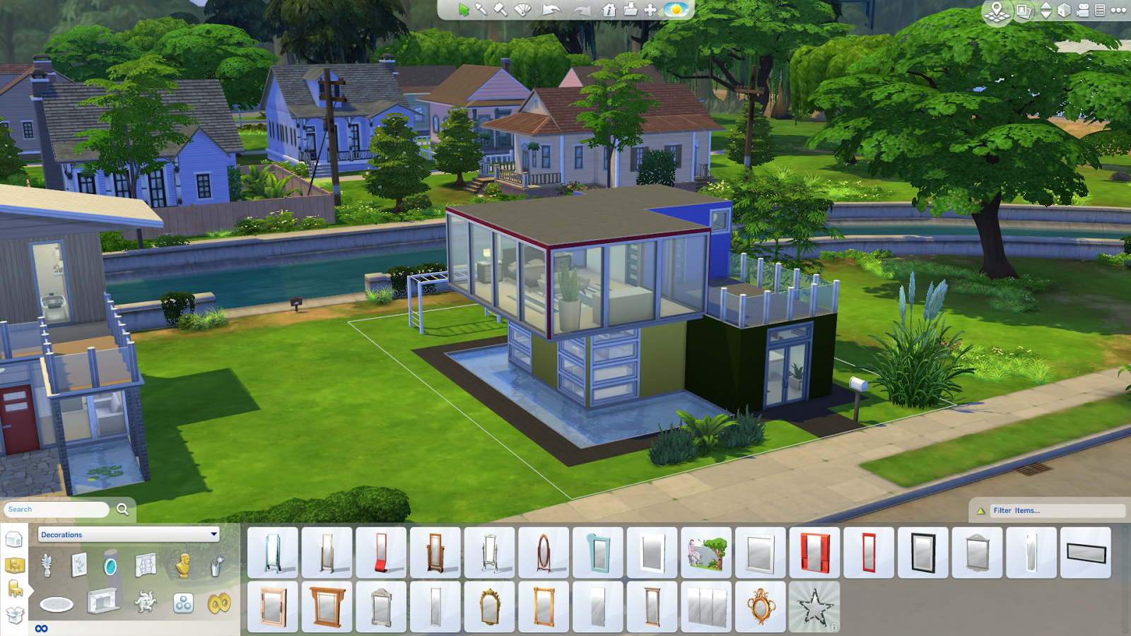 De sims 4 nieuwe screens sims nieuws for Best house designs sims 4