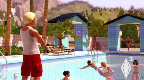 sims zwembad