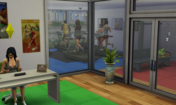 De Sims 4 Patch: carrière screen