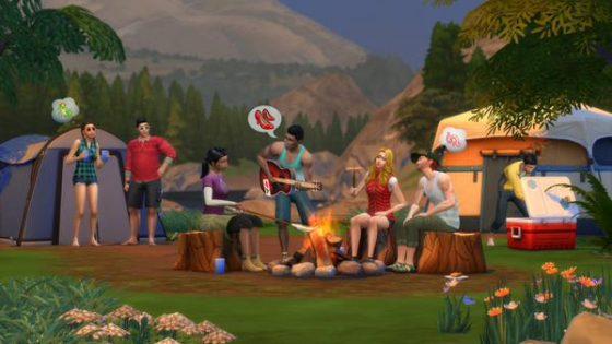 Sims 4 kamperen
