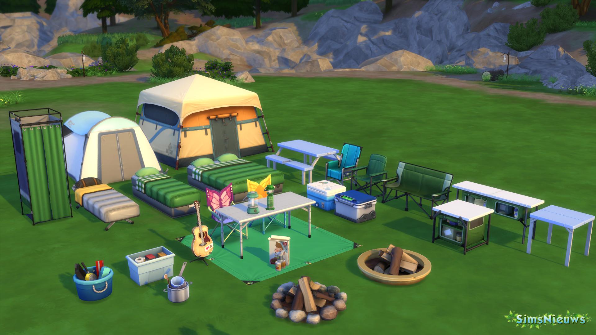 sn review de sims 4 in de natuur sims nieuws. Black Bedroom Furniture Sets. Home Design Ideas