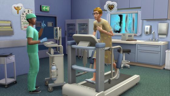 Sims 4 blog dokter