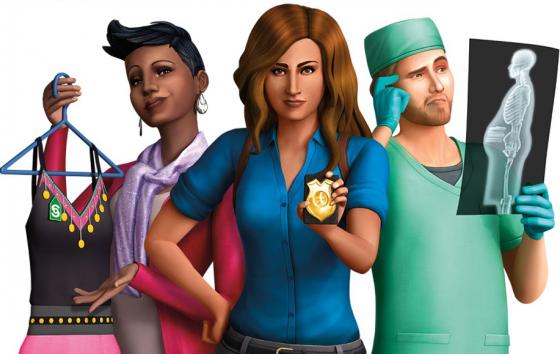 De Sims 4: Nieuwe render!