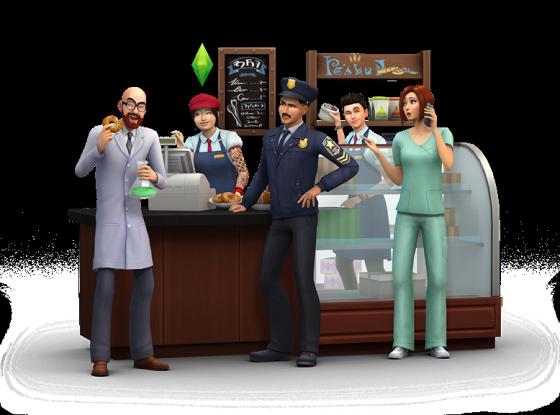 Sims 4 rendertje
