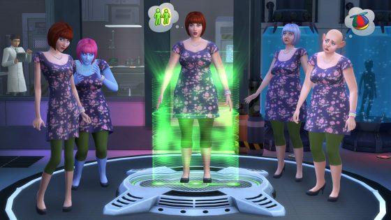 Sims 4 maart wetenschap