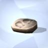 Prehistorische hoefafdruk