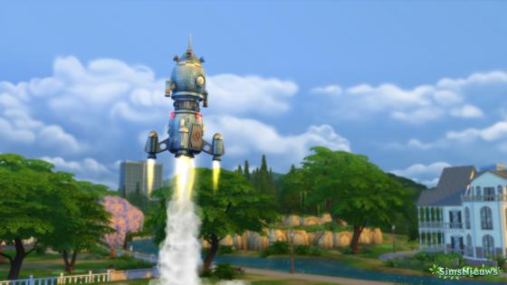 De Sims 4 collecties: Ruimtestenen