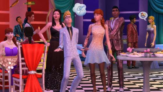 De Sims 4 Luxe Feestaccessoires
