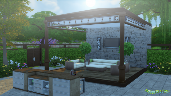 SN Review: De Sims 4 Perfecte Patio accessoires