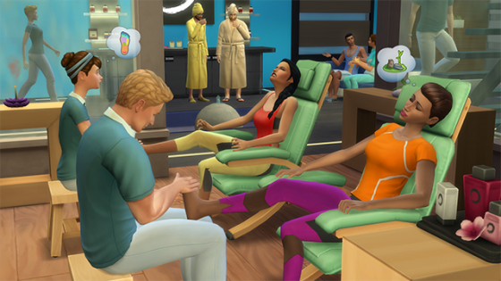 De Sims 4 Community blog: Je eigen spa bouwen in De Sims 4