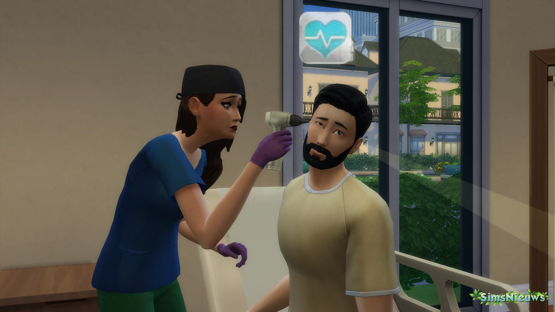 Patiënten onderzoeken