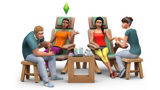 De Sims 4 Community Blog: Het De Sims 4 Wellnessdag Game Pack wordt binnenkort uitgebracht!