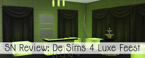 SN Review: De Sims 4 Luxe Feestaccessoires
